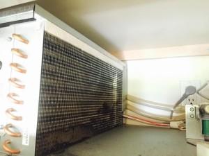 condenser Sub Zero 48 inches refrigerator serviced Jan 2015
