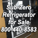 Sub-Zero refrigerator for sale Los Angeles