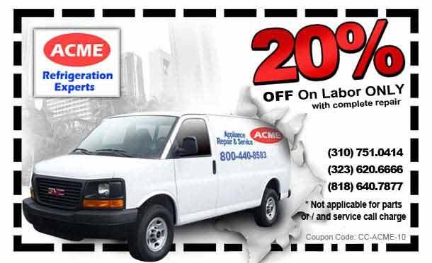 Sub-zero refrigerator repair special discount summer 2016