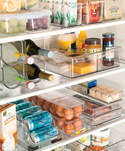 arrange Refrigerator Shelves