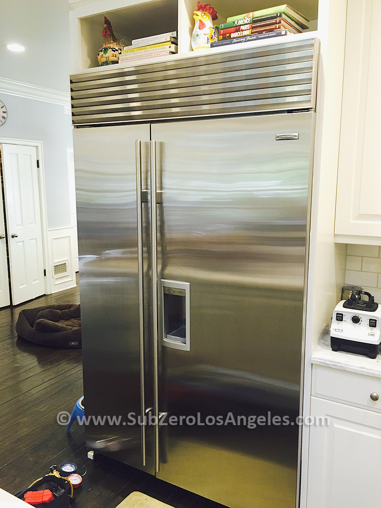 Sub-Zero-refrigerator-BI-48-repaired-Beverly-Hills-CA-Feb-2016-1