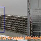 Sub Zero refrigerator evaporator repair