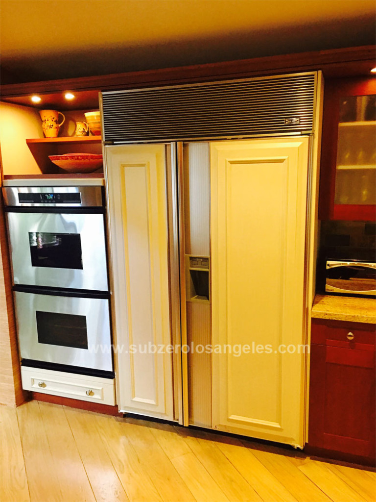 Sub Zero refrigerator 690 model repaired