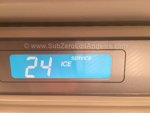 Sub-Zero-freezer-601F-model---repaired-in-Brentwood-CA-Feb-2016-3-service-sign-photo