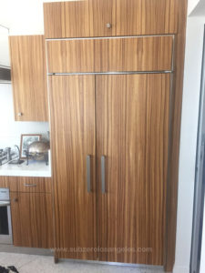 sub zero refrigerator 642 model repaired in Hollywood Hills this week November 2015 3