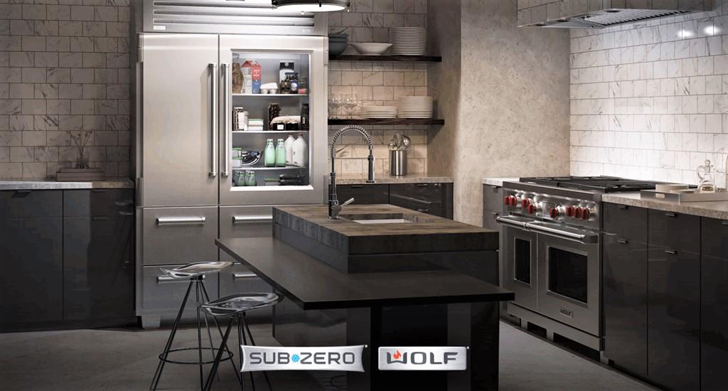 Sub Zero Refrigerators and Wolf Appliances