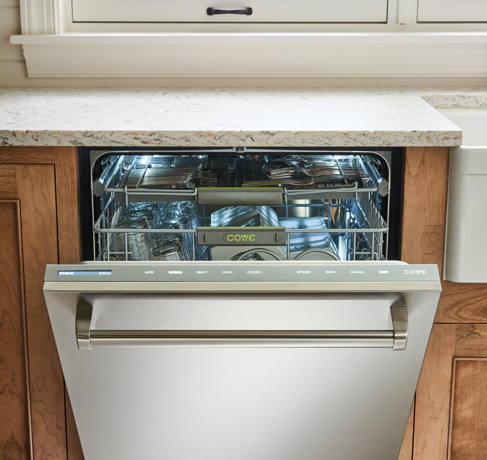 cove front stainless