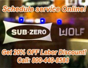 Sub Zero authorized service los angeles CA