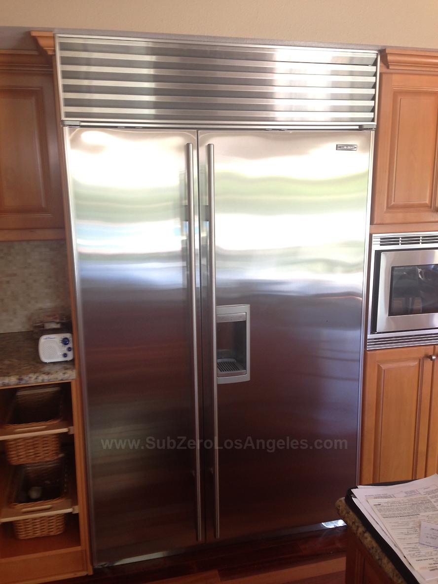 One Column Portfolio Sub Zero Refrigerator Freezer