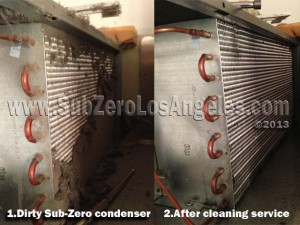 Sub Zero condenser maintenance and cleaning 2013