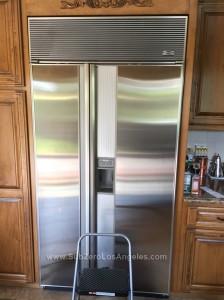 Sub-Zero-690-model-refrigerator-repaired-in-Arcadia-CA-Oct-11-2014-evaporator-service
