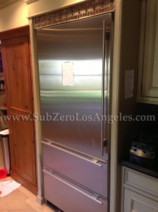Sub-Zero-refrigerartor-736-TCI-model-repaired-n-Brentwood-CA-2013